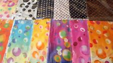 Joblot 24 pcs Polka Dot  chiffon scarves New wholesale 50x160 cm Lot 21