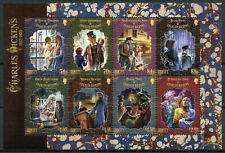 More details for jersey famous people stamps 2020 mnh charles dickens writers oliver twist 8v m/s