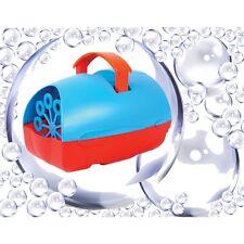 NUEVO QTX barato Mini Fiesta Discoteca Ligero Máquina de burbujas El rojo y azul