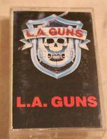 LA Guns Self Titled Cassette Tape