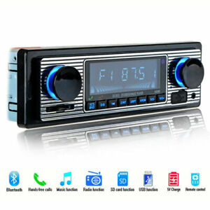 4-Channel Digital Car Bluetooth Audio USB/SD/FM/WMA/MP3 Radio Stereo Sturdy KIT