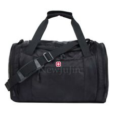 Swiss Army Men  Tote Luggage Bag Travel Sports Gym Basket Messenger Bag Black
