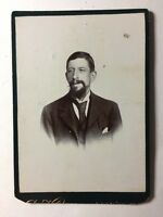 Large Victorian Cabinet Card Photo (CDV) Gentleman: