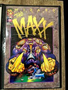 Maxx 1/2 Gold Sam Kieth Wizard Magazine with COA and plastic holder batman