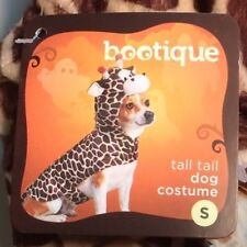 Tall Tail Giraffe Costume - Small Pet - Attached Headpiece & Tunic New With Tags
