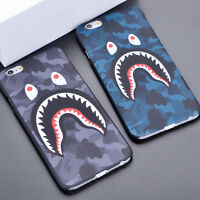 bape iphone 7 case blue