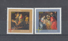 550 ) Germany Stamps 2004 Christmas Nativity Animals/ Angels /Shepherds / Maria