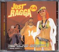 Just Ragga Vol 14 Authentic Sealed CD Dancehall Collection Music Various Album