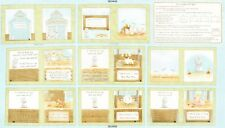 Cotton Tale Farm soft Book panel By the panel Cotton print Baby