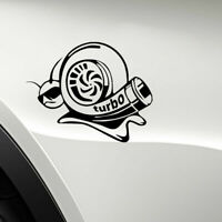 Universal Funny Turbo Super Snail Car Sticker Vinyl Window Bumper Decal Racing