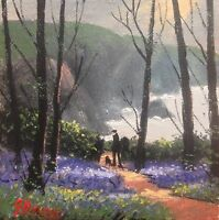 JAMES DOWNIE SIGNED ORIGINAL OIL PAINTING - SPRING MORNING view Gallery..