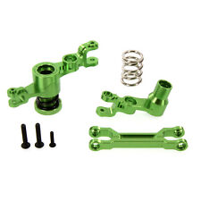 Traxxas X-Maxx Alloy Steering Bellcrank Assembly, Green by Atomik RC - TRX 7746