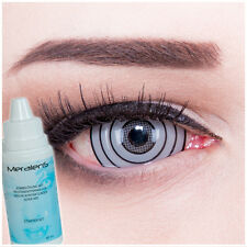 Coloured Fun Crazy contact lenses Rinnegan Sclera Naruto Anime Manga Carneval