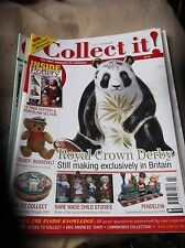 COLLECT IT FEB 2008 #127 & POTTERY COLLECTOR MAGAZINES CROWN DERBY TEDDY PENDELF