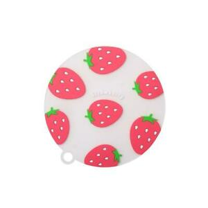 Cartoon Fruit Silicone Non-Stick Heat Resistant Placemat Cup Pads Coasters