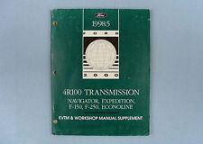 EVTM & Workshop Manual Supplement, 1998.5, 4R100 Transmission, FCS-12863-99