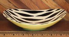 Vintage SANDLAND WARE ZEBRETTE STAFFORDSHIRE ENGLAND Zebra Change Key Dish 1170