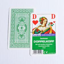 25 Senioren Doppelkopfspiele Club Französisches Bild Doppelkopfkarten von Frobis