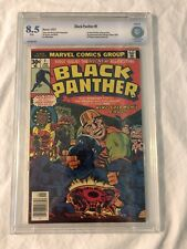 Black Panther #1 CBCS 8.5 Kirby 1st Solo Series White Pages not CGC