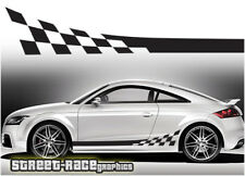 AUDI TT 013 Strisce Da Corsa Decalcomanie Adesivi Grafica RS Quattro Sport