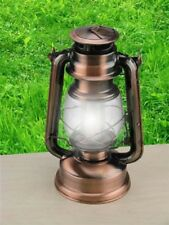 Hurricane Lanterns LED Set Of 2 Ideal For Camping And Fishing Silver Finish.