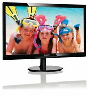"24"" Full HD Supports 4K Computer LED Monitor Back-Lit HDMI 1920X1080 W Speaker"