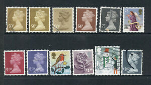 Selection of United Kingdom Stamps - 50p > £2.00 - USED [7357]