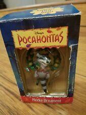 Pocahontas Meeko Ornament Disney Raccoon In Wreath