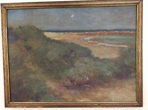 Louis Comfort Tiffany Oil Painting 1870s Christies LCT Studios 12x16. LCT