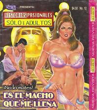 *HISTORIAS PASIONALES*  ES EL MACHO QUE ME LLENA  COMIC >SEXY< #12