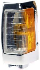 FITS 1990-1994 NISSAN D21 DRIVER LEFT SIDE MARKER LIGHT ASSEMBLY W/CHROME TRIM