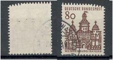 Bundesrepublik 461 R gestempelt oben verzähnt (708383)