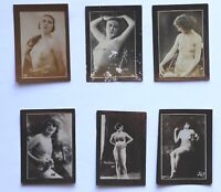 Gift cards of Trinidad and Brothers cigarettes. Cuban Art. Circa 1930