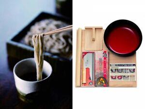 Japanese Traditional Hand Made Soba Noodles Set of 5 Items Instruction Japan EMS