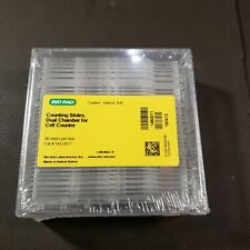 Biorad Dual Chamber Cell Counting Slides Cat 145 0011 30 Ctbox Lab Counter