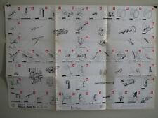 """Alfa Romeo 1600 Special Tools Print """"Circa 1963&1966"""""""