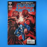 Steve Rogers Captain America #3 Baron Zemo vs Red Skull Marvel Comics 2016