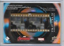 2018 UPPER DECK MARVEL STUDIOS THE FIRST 10 YEARS FILM CELLS #FC-10 ULTRON