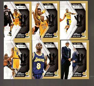2015-16 Panini HV KB20 Unleash the Hero Kobe Bryant 21 Card Set Gold HTM 257