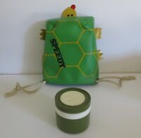 1978 Vintage Rare R10 Speedy Turtle Vinyl Lunchbox Thermos Mint by KST Wow !!!!