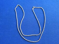 "14k Yellow Gold 18"" Rope Chain Necklace"