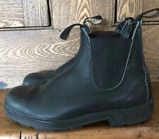 Blundstone 500 Chelsea ankle work boots black leather 6.5 AU UK 7.5 / 9.5 US
