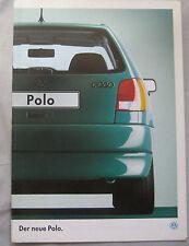 1994 VW Polo German Brochure Pub.No. 415/1190.11.00