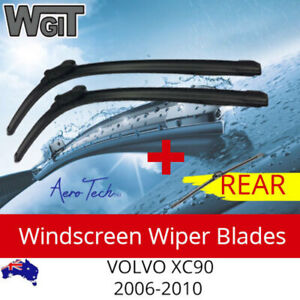 Wiper Blades Kit Front Rear For for VOLVO XC90 2006-2010 - Aero Tech 3 Blades