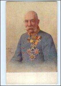 Y10725/  Kaiser Franz Josef mit Ehrenzeichen AK 1915