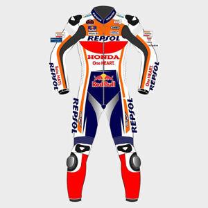 MARC MARQUEZ HONDA REPSOL MOTOGP 2020 MOTORBIKE LEATHER RACING SUIT ALL SIZE