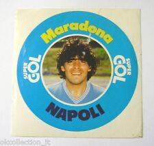 VECCHIO ADESIVO / Old Sticker CALCIO DIEGO ARMANDO MARADONA NAPOLI (cm 12x12)