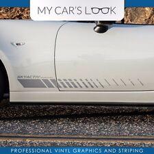 Mazda MX5 Miata door panel side stripe graphics decal Skyactive
