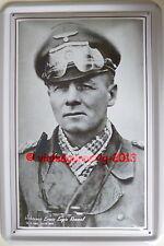 Blechschild 20x30cm - Erwin Rommel - Wüstenfuchs