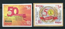 Nepal 2016 MNH Philatelic Society & FNCCI Golden Jubilee 2v S/A Set Stamps